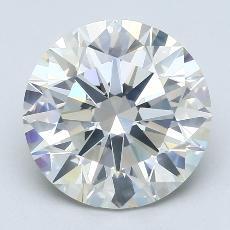 Pierre recommandée n°1: Diamant taille ronde 3,85 carat
