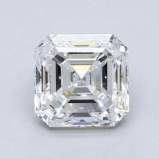 1.51-Carat Asscher Diamond Very Good E IF