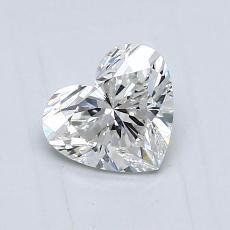 0.75-Carat Heart Diamond Very Good G VVS2