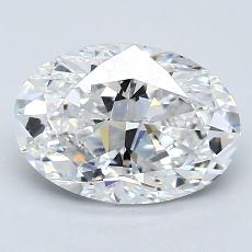 Recommended Stone #3: 1.71-Carat Oval Cut Diamond