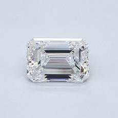 Recommended Stone #1: 0.63-Carat Emerald Cut Diamond