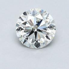 Recommended Stone #3: 0.82-Carat Round Cut