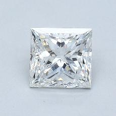 1.03-Carat Princess Diamond Very Good E SI2