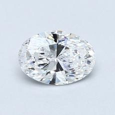 0.70-Carat Oval Diamond Very Good D VS1
