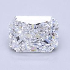 Recommended Stone #2: 1.52-Carat Radiant Cut Diamond
