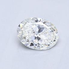 0.55 Carat 橢圓形 Diamond 非常好 G VS1