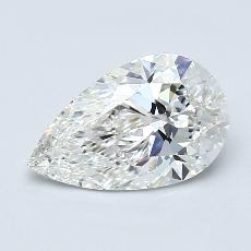 Recommended Stone #1: 1,73-Carat Pear Cut Diamond