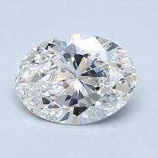 1.22-Carat Oval Diamond Very Good G VS1