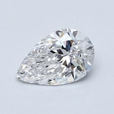Recommended Stone #4: 0.72-Carat Pear Cut Diamond
