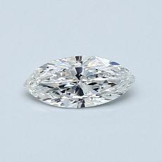 0.31-Carat Marquise Diamond Very Good E VVS1