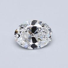 推荐宝石 2:0.50克拉椭圆形切割钻石