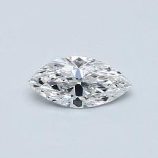 Recommended Stone #4: 0.34-Carat Marquise Cut Diamond