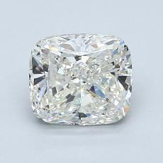 Pierre recommandée n°2: Diamant Taille coussin de 1,50carat
