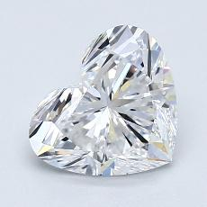 Recommended Stone #2: 1.58-Carat Heart Cut Diamond