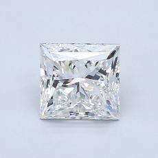 1.00 Carat プリンセス Diamond ベリーグッド G VS2