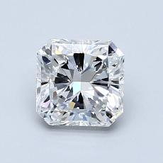 1.02-Carat Radiant Diamond Very Good E VS1