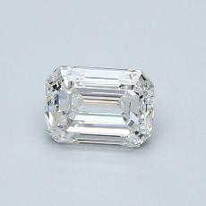 推荐宝石 4:0.70 克拉祖母绿切割钻石