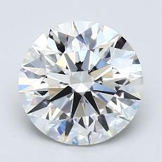 推荐宝石 1:1.80克拉圆形切割钻石