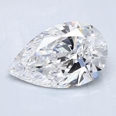 Recommended Stone #1: 1.24-Carat Pear Cut Diamond