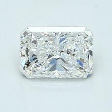 1,02-Carat Radiant Diamond Very Good G SI2