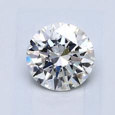 1.00 Carat Redondo Diamond Ideal G SI1