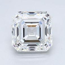 Target Stone: 1.70-Carat Asscher Cut Diamond