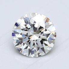 Target Stone: 0.86-Carat Round Cut Diamond