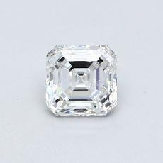 Piedra objetivo: Diamante de talla Asscher de 0.55 quilates