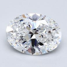 推荐宝石 2:2.01克拉椭圆形切割钻石