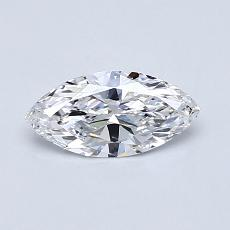 0.45-Carat Marquise Diamond Very Good D IF
