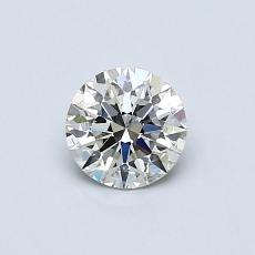 0.51-Carat Round Diamond Ideal J SI2