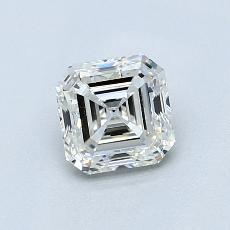 所選擇的鑽石: 0.90  克拉上丁方形鑽石