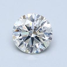 推荐宝石 3:1.08 克拉圆形切割