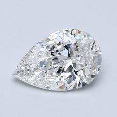 Recommended Stone #2: 1.00-Carat Pear Cut Diamond