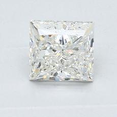 1.01 Carat 公主方形 Diamond 非常好 I VVS2