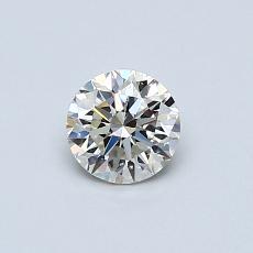 Pierre recommandée n°3: Diamant taille ronde 0,48 carat