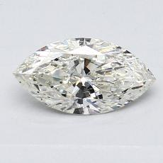 Recommended Stone #3: 0.80-Carat Marquise Cut Diamond