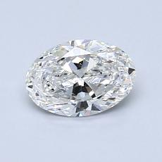 0.71-Carat Oval Diamond Very Good F VS1