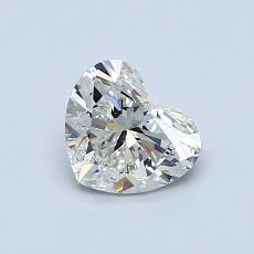 Recommended Stone #1: 0.75-Carat Heart Cut Diamond