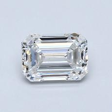 Recommended Stone #1: 0,85-Carat Emerald Cut Diamond