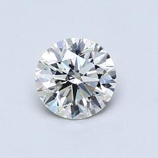 0.70-Carat Round Diamond Ideal G VS1