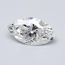 0.60-Carat Marquise Diamond Very Good D IF