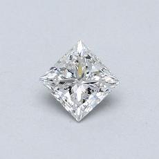 Recommended Stone #3: 0.37-Carat Princess Cut Diamond