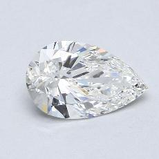 1.20-Carat Pear Diamond Very Good G VVS1