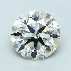 1.50-Carat Round Diamond Ideal K SI2