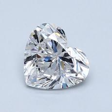 1.01-Carat Heart Diamond Very Good D VVS2