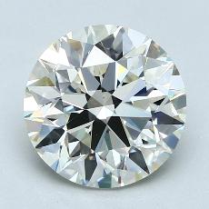 Recommended Stone #3: 3.13-Carat Round Cut Diamond