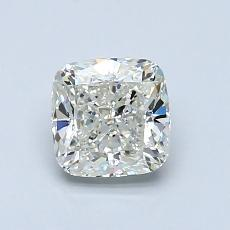 1.02-Carat Cushion Diamond Very Good J VVS1