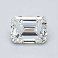 Recommended Stone #1: 0.96-Carat Emerald Cut Diamond