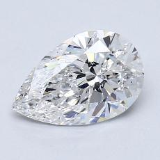 Recommended Stone #3: 1,19-Carat Pear Cut Diamond